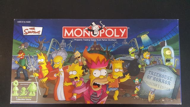 Monopoly Los Simpsons TreeHouse of Horror 2005