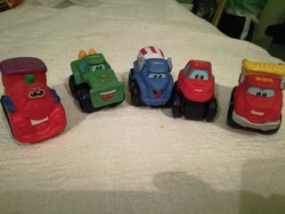 Pack coches Tonka