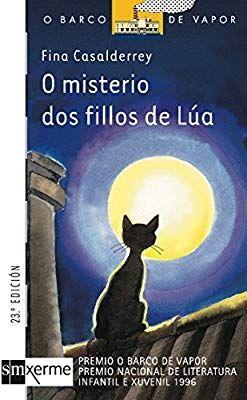 Libro de lectura infantil en Gallego