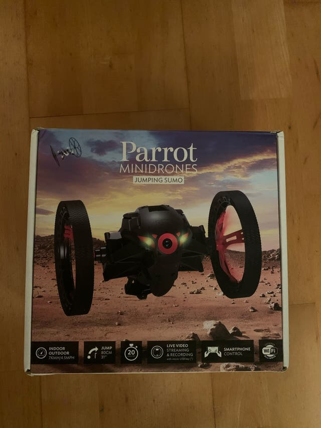 Parrot drone (Jumping sumo)