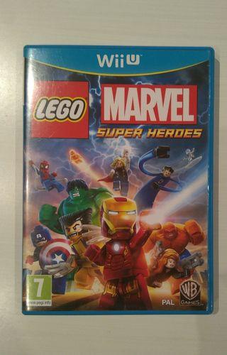 Juego Wii U Lego Marvel Super Héroes