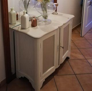 Mueble madera maciza aparador o zapatero