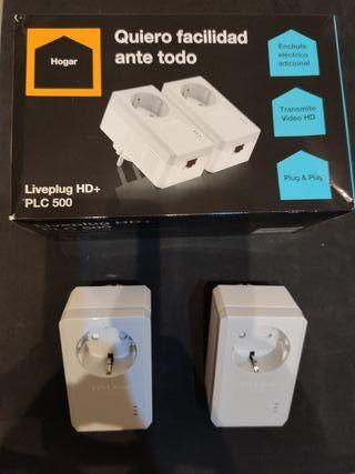 PLC 500 LIVEPLUG HD+