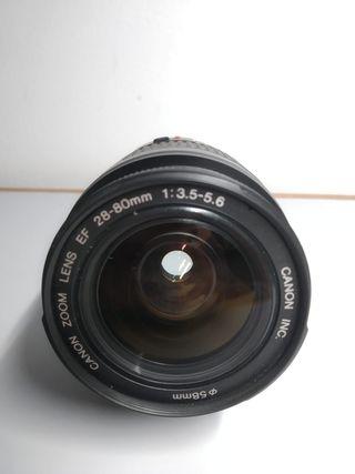 Objetivo Canon EF 28-80mm