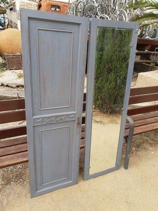 Puerta espejo en decape 30 c/u
