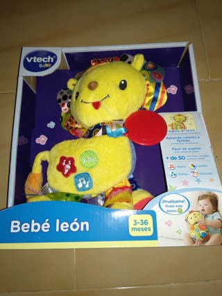 Bebé león juguete musical