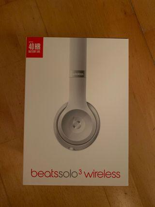 Beats solo 3 wireless color plata