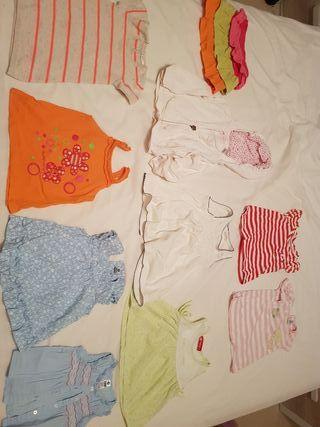 ropa verano bebe talla 80-86 12-24 meses, lote L
