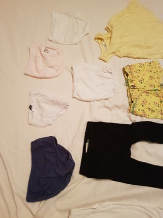 ropa bebe niña verano talla 80 9-14 meses, lote K