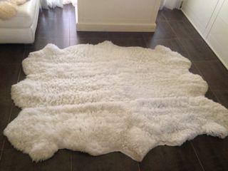 Alfombra de piel de oveja