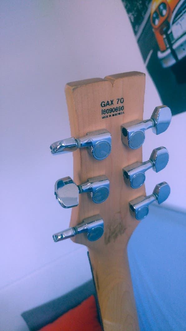 guitarra eléctrica Ibáñez