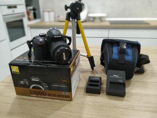 camara reflex nikon D3300