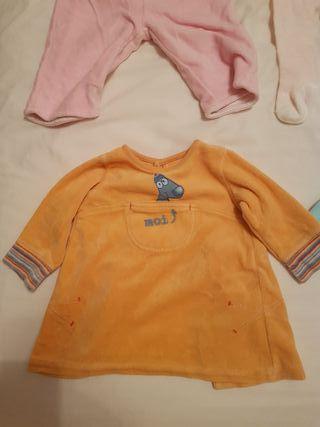 ropa invierno bebe niña talla 56-68 2-6 meses, J