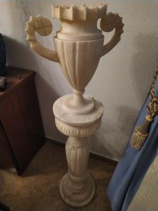 Columna de mármol (2 piezas)