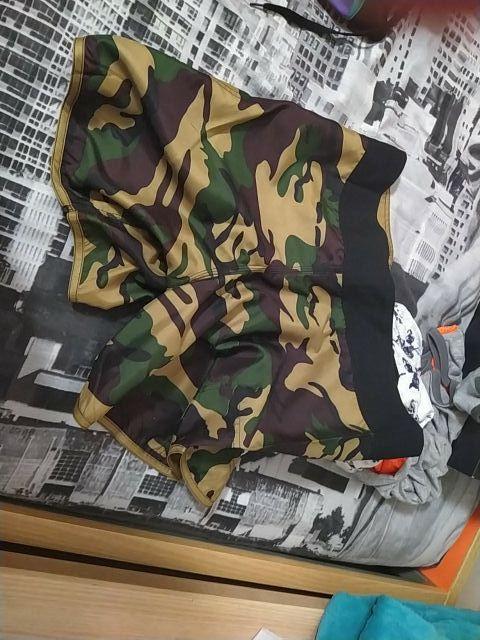 pantalones camuflaje muay thai/kick boxing