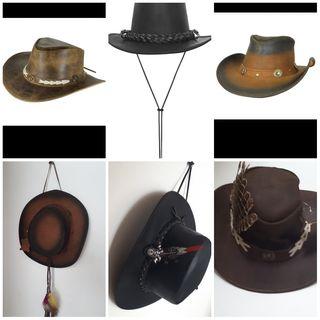 sombreros piel auténtica