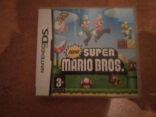 Juego New super Mario Bros Ds