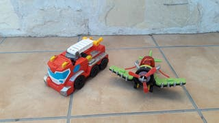 Juguetes fisher price (transformers)