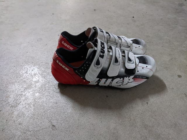 Zapatos bicicleta carretera luck