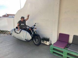 Marauder 125 surf board moto custom suzuki