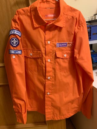 Camisa Scout Castores