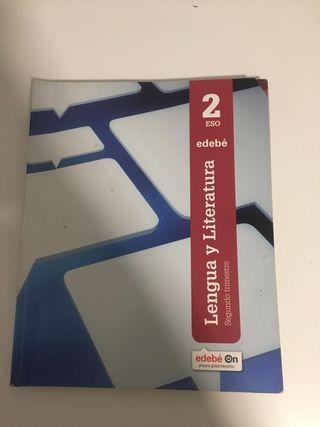 libros 2° ESO LENGUA Y LITERATURA