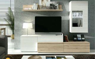 Muebles salon Tv y comedor.