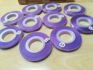 cintas de raso