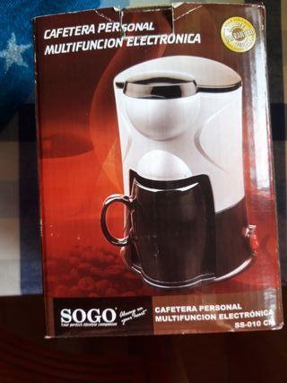 Cafetera Sogo sin estrenar de segunda mano por 9 € en
