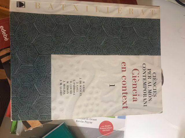 libros primero de bachillerato.