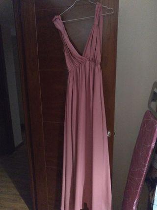 vestido rosa dama de honor