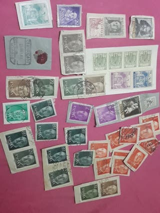más de 40 sellos de los 50 y 60