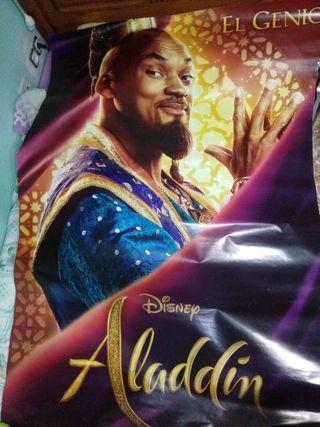 Posters gigantes de la pelicula Aladin