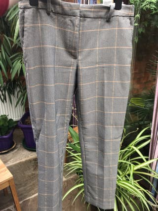 Squared smart trousers