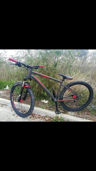 bicicleta de montaña modificada