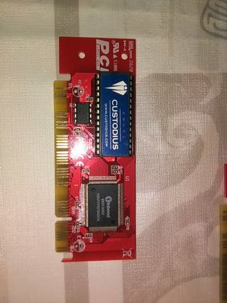 INF001 tarjeta PCI Custodius