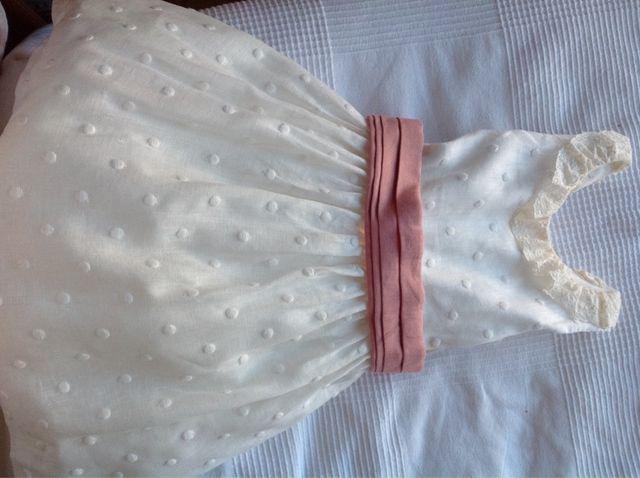 Vestido ceremonia niña. T 6 y 8