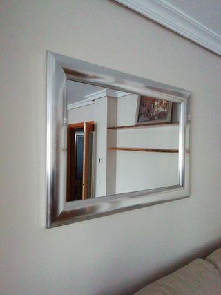 Espejo Maison du Monde plateado