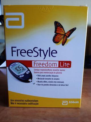 Medidor de glucosa + 3 cajas tiras