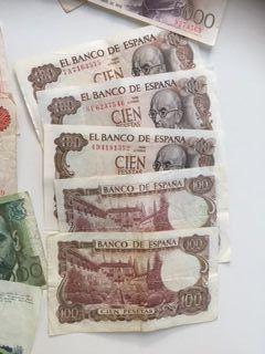 billetes de 100 pesetas (60)