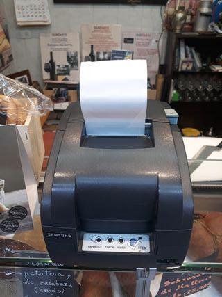 impresora de tickets Samsung y fax ricoh