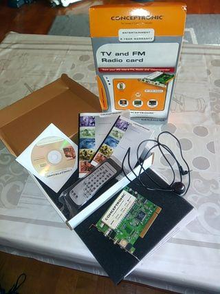 INF008 tarjeta TV+Radio PCI Conceptronic