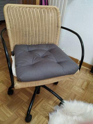 silla oficina Ikea escritorio