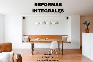 Reforma integral y presupuesto reforma
