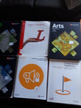 libros de texto 2 bachillerato barcelona