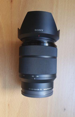Objetivo FE 28-70 F3,5-5,6 OSS Sony
