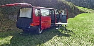 Alquiler de Furgo Camper. Volkswagen Transporter