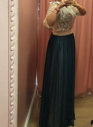 Vestido nuevo con etiqueta y tíquet de compra