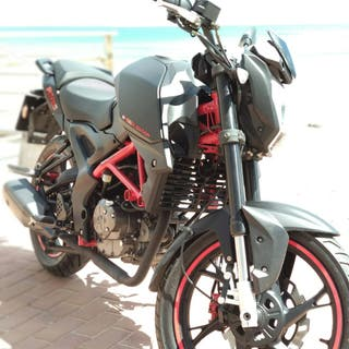 Moto 125 KSR GRS 125 Black Edition Naked