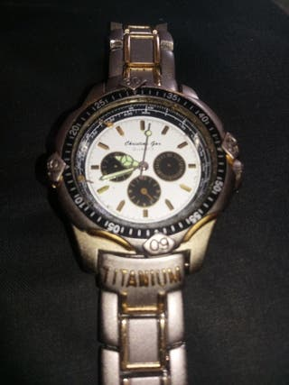 Reloj Christian Gar Titanium Edition (reparar)